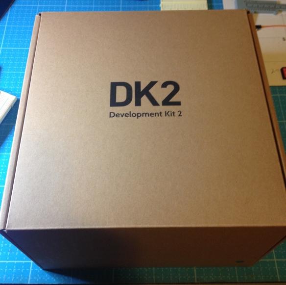 DK2 arrives
