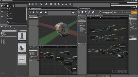 UE4 Blueprint system