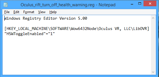 oculus_health_registry_bat_file